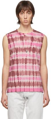 Isabel Marant Pink Cornell Tie-Dye Sleeveless T-Shirt