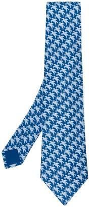 Hermes 2000's pre-owned Pegaso patterned tie