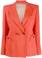 BLAZÉ MILANO double-breasted fitted blazer