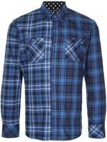 GUILD PRIME star back plaid shirt