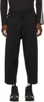 Y-3 Black Matte Track Trousers