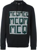 McQ by Alexander McQueen logo print hoodie