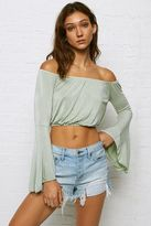 American Eagle Outfitters Don't Ask Why Flare Sleeve Top