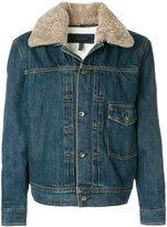 Rag & Bone shearling lined denim jacket