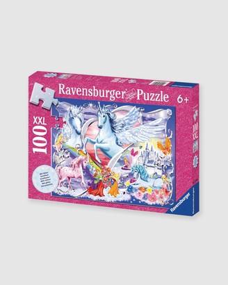 Ravensburger Girl's Pink Puzzles - Amazing Unicorns Puzzle Glitter 100pc - Size One Size at The Iconic