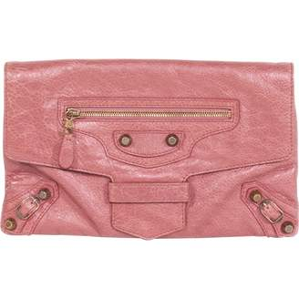 Balenciaga Envelop Pink Leather Clutch bags