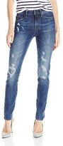 G Star Women's 3301 Ultra High Rise Skinny Fit Jean in Hadron Stretch Denim