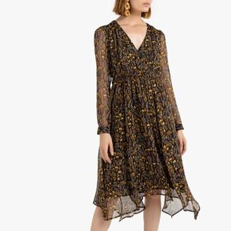 See U Soon Boho Wrapover Dress in Floral Print