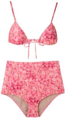 Adriana Degreas printed triangle bikini set