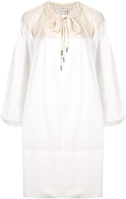 Lee Mathews Keiko colour-block tunic dress