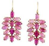 Irene Neuwirth 18K Pink Tourmaline Drop Earrings