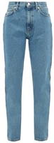 Christopher Kane Crystal-embellished Straight-leg Jeans - Womens - Denim