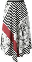 I'M Isola Marras asymmetric printed skirt - women - Polyester/Spandex/Elastane/Acetate/Viscose - 42