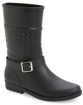 dav Women's Weston Waterproof Woven Shaft Rain Boot