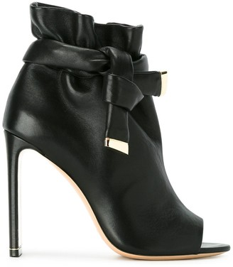 Nicholas Kirkwood Ziggy peep-toe boots