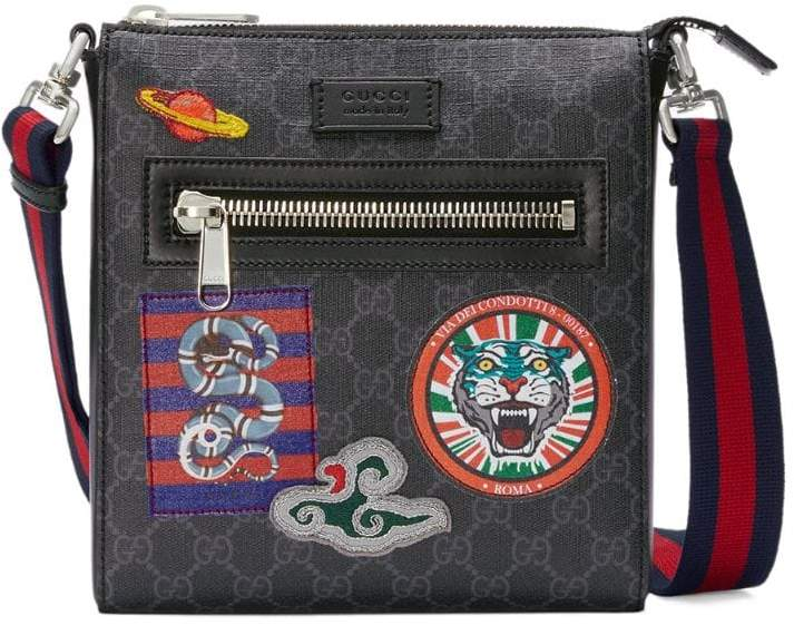 Gucci Night Courrier GG Supreme messenger