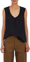 L'Agence Women's Daisy Silk Sleeveless Blouse