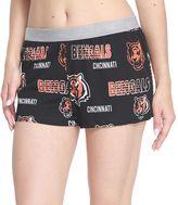 Women's Concepts Sport Cincinnati Bengals Sweep Shorts