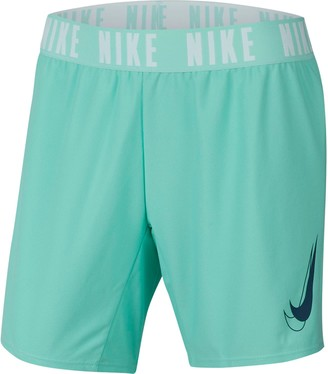 Nike Girls 7-16 Dri-FIT Trophy Graphic Running Shorts