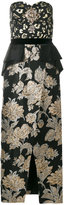 Christian Pellizzari gold embellished dress