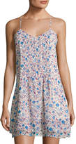 Sanctuary Spring Fling Racerback Dress, Blue Pattern