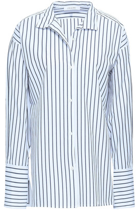 Frame Striped Cotton Shirt