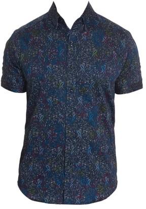 Robert Graham Payne Printed Sport Shirt