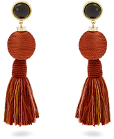 Lizzie Fortunato Modern Craft tassel earrings