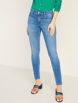 Old Navy Mid-Rise 24/7 Sculpt Rockstar Super Skinny Jeans for Women