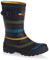 Joules Junior Boys Printed Wellington Boots