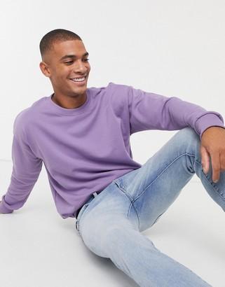 New Look sweatshirt in purple