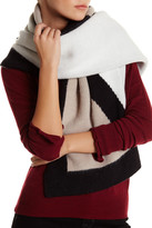Anne Klein Oversized Colorblock Scarf