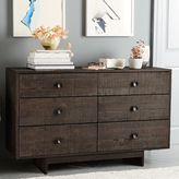west elm EmmersonTM Reclaimed Wood 6-Drawer Dresser - Chestnut