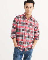 Abercrombie & Fitch Bleached Oxford Shirt