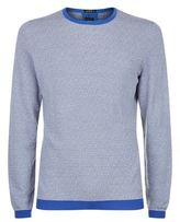 Boss Silk-cotton Textured Jumper