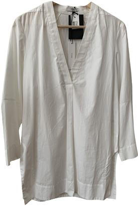 Tome White Cotton Top for Women