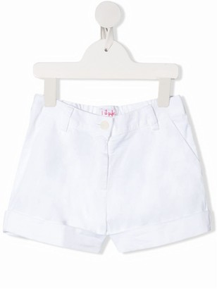 Il Gufo Turn-Up Mid-Rise Shorts