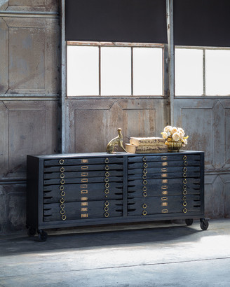 REGINA ANDREW Printmakers 12-Drawer Console