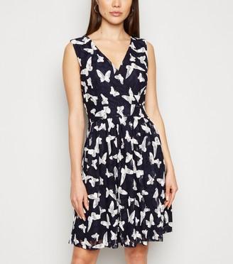 New Look Mela Lace Butterfly Wrap Dress
