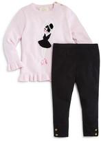 Kate Spade Infant Girls' Ballerina Sweater & Leggings Set - Sizes 6-24 Months