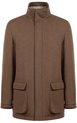 Loro Piana Fur-Lined Field Jacket
