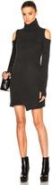 Pam & Gela Cold Shoulder Sweater Dress