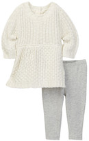 Splendid Sweater Dress & Leggings 2-Piece Set (Baby Girls)