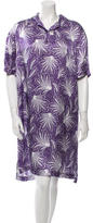 Dries Van Noten Printed Knee-Length Dress