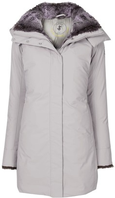 Save The Duck Arctic synthetic down and fur parka