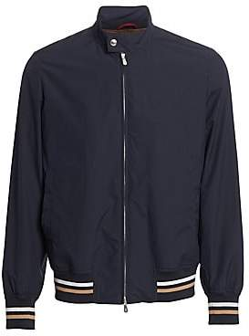 Brunello Cucinelli Men's Baseball Bomber Jacket