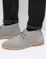 Jack and Jones Gobi Suede Desert Boots