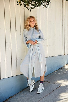 Free People Babe Feelings Shirt Dress