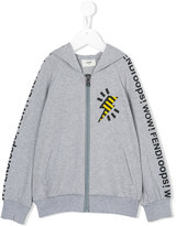 Fendi printed hooded sweatshirt - kids - Cotton/Spandex/Elastane - 4 yrs
