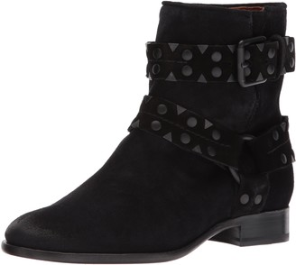 Frye Women's Carly Stud Short Engineer Boot